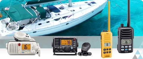 Atos propose une gamme de produits VHF portatifs ou mobiles étanche.