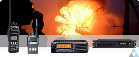 Private Mobile Radiocommunication, ATOS Radiocom propose une vaste gamme de produits (Bases, Mobiles, Portatifs, Relais, Terminaux ATEX)